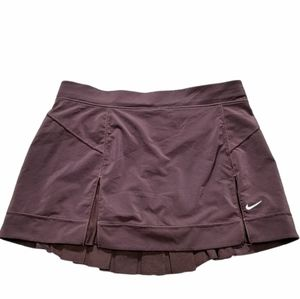 Nike Maroon Tennis Skirt Size S